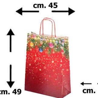 shoppers natalizi, sacchetti natalizi