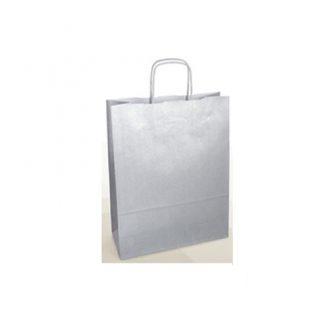 sacchetto carta argento