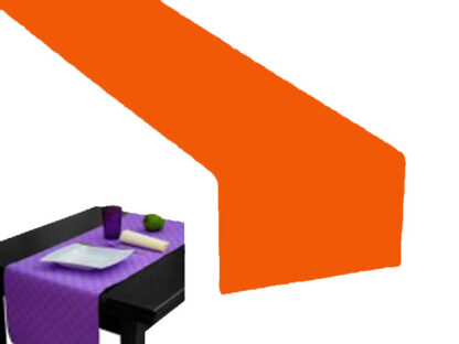 Runner carta a secco arancio cm 50x120 pz.20