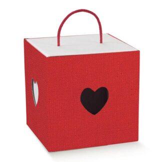 scatole cartone rosso
