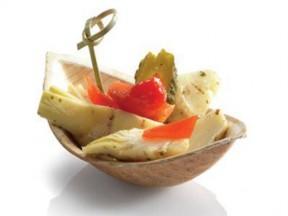 contenitori finger food biodegradabile