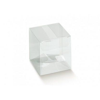 Scatola trasparente mm 65x65x230 pz.10