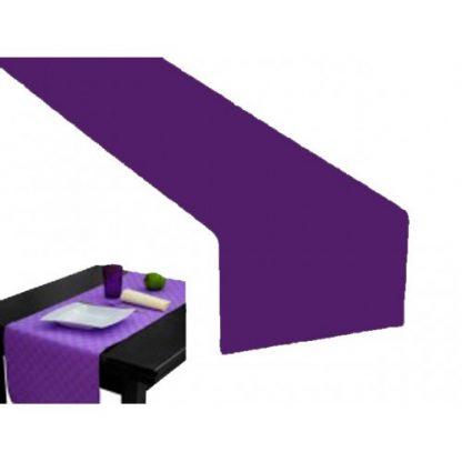Runner carta a secco viola cm 50x120 pz.20