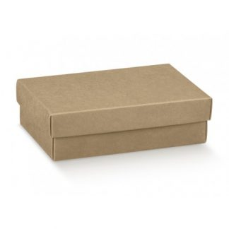 Scatole regalo cartone avana mm 130x90x40 pz.10