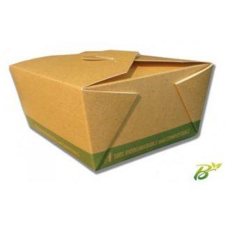 Contenitori asporto food box bio mm. 152x120 h.65 pz.20