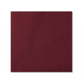 Tovaglioli carta 2 veli cioccolato cm. 40x40 pz. 50