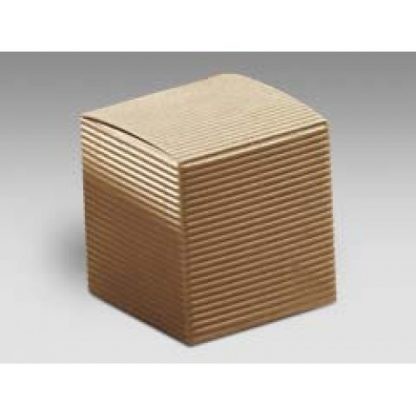 Scatola cartone pieghevole avana mm 60x60x60 pz.10