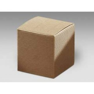 Scatola cartone pieghevole avana mm. 80x80x80 pz. 10