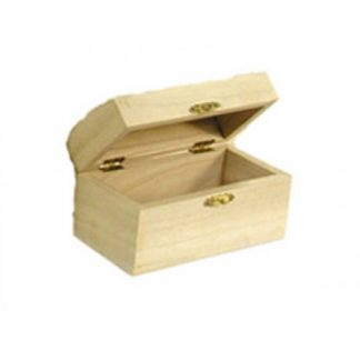 Scatola legno di balsa a bauletto mm 230x160 h.120
